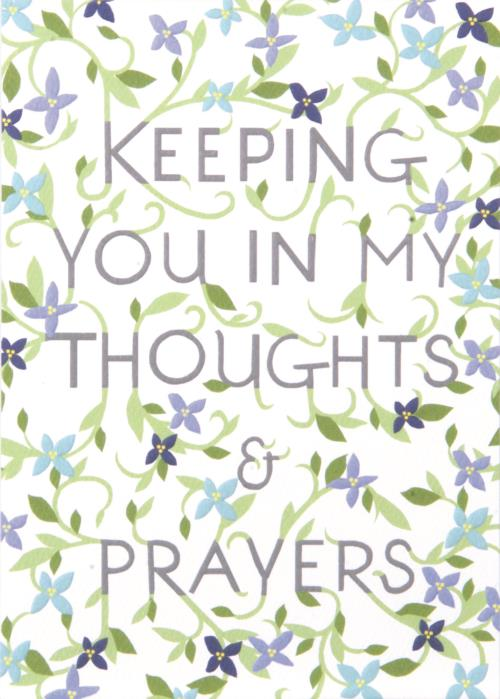 Thoughts And Prayers Card-Sympathy-Gen