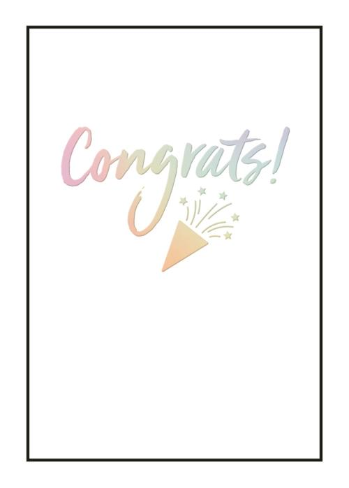 Congrats Awesome Card-Congrats-Gen