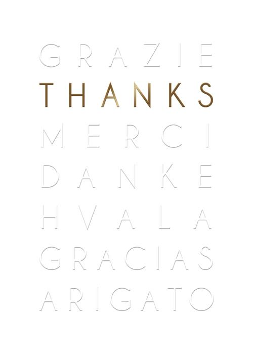 Thank You Languages Card-Thanks-Gen